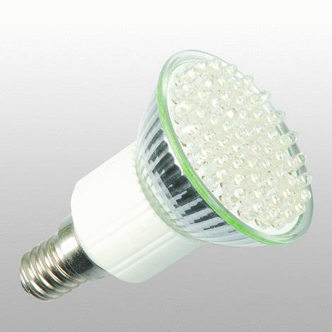 60 led e14 jdr warmwei 230v led leuchtmittel lampe spot e14. Black Bedroom Furniture Sets. Home Design Ideas