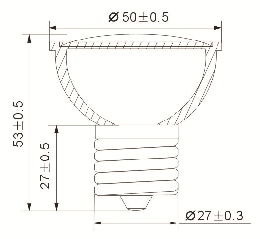 20 led e27 wei 230v led leuchtmittel e27 lampe spot. Black Bedroom Furniture Sets. Home Design Ideas