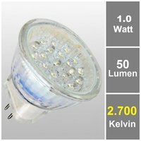 21LED MR11 Warmweiß 12V