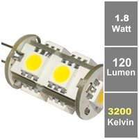 BIOLEDEX® 9 HighPower SMD LED G4 Leuchtmittel 360° G4 Warmweiß