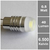 Power SMD G4 LED Weiß Lampe 12V