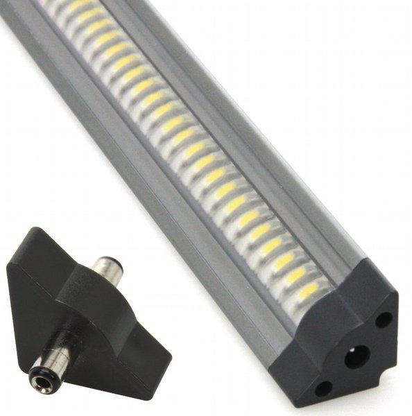 """Frisch 30cm LED-Unterbauleuchte """"Triangle"""" weiß, 42 LEDs, 200 Lumen  RO46"""