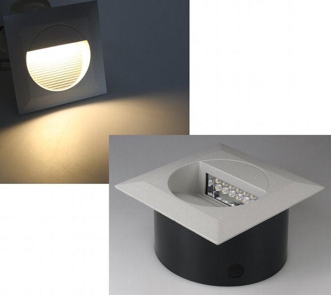 led100 led leuchtmittel led einbaustrahler led gu10. Black Bedroom Furniture Sets. Home Design Ideas