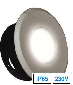 einbaustrahler eisengeb rstet ip65 gu10 230v led100. Black Bedroom Furniture Sets. Home Design Ideas