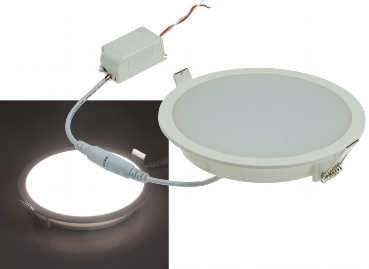 "LED Licht-Panel ""CP-150R"", Ø 150mm, IP54 230V, 10W, 840 Lumen, 4200K/neutralweiß"