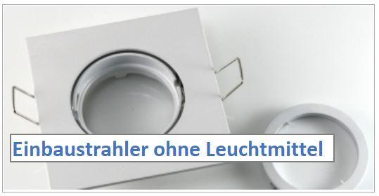 Gut bekannt LED Einbaustrahler - LED100 Ihr Onlineshop OD56